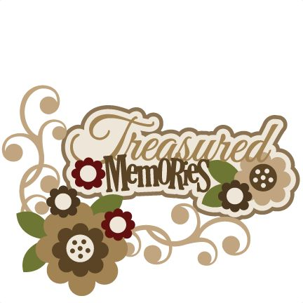 Treasured . Memories clipart