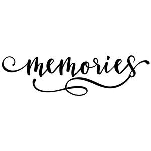 Pin on svg files. Words clipart memories