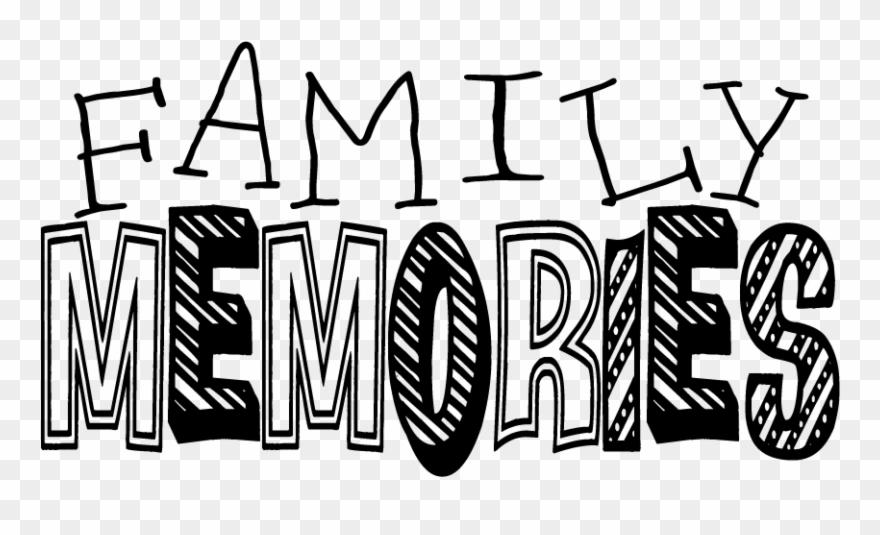 Word art world . Memories clipart family role