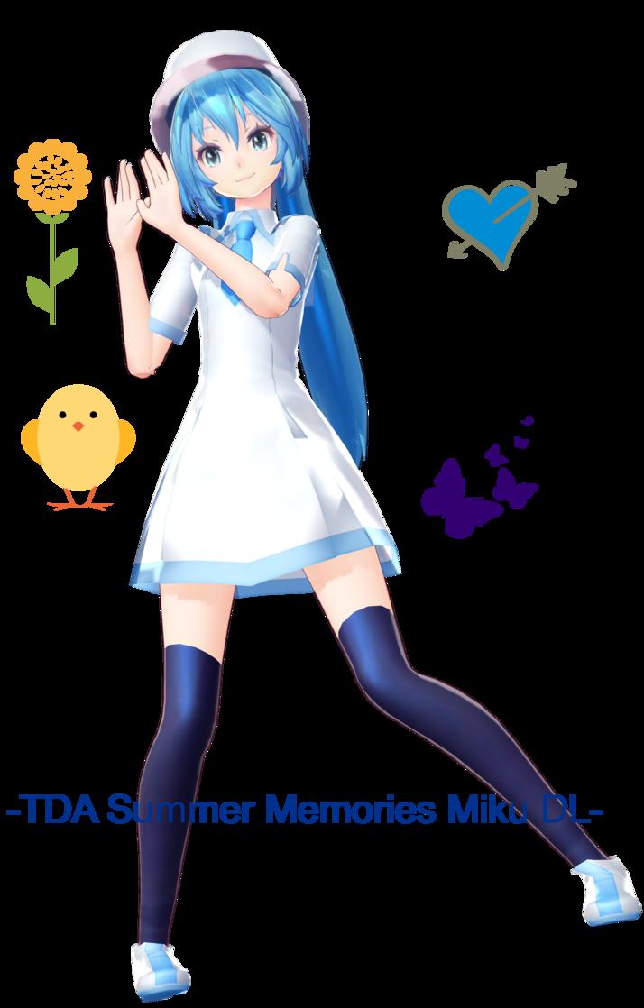Memories clipart happy memory. Tda summer miku dl
