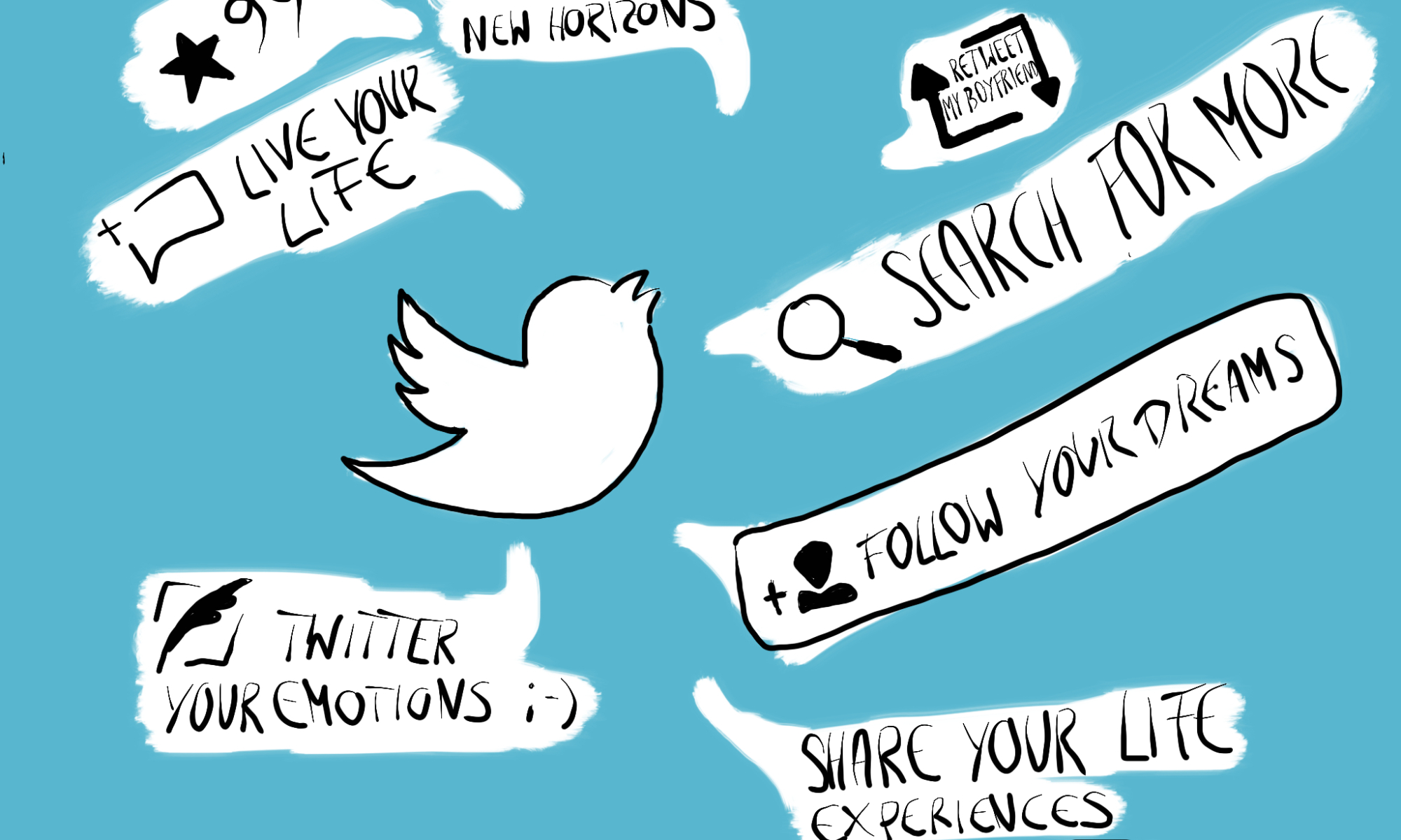 Memories clipart live life. Is like twitter you