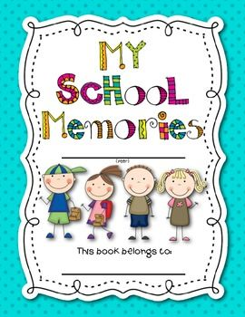 End of the year. Memories clipart memory book