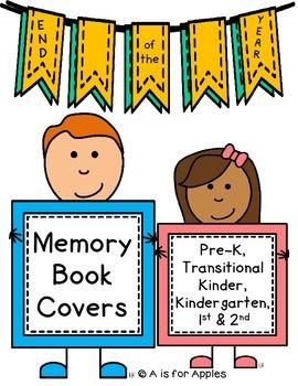 Yearbook clipart happy memory. Book covers editable books