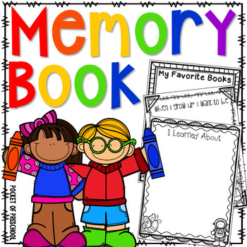 Preschool clipart memories. End of the year