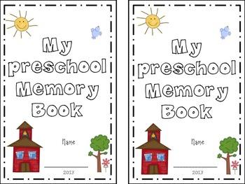 Memory book . Memories clipart preschool