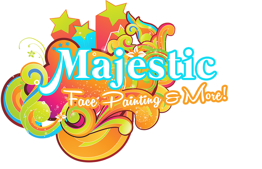 Majestic face painting body. Memories clipart remembered