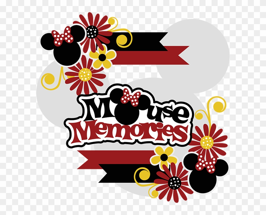 Memories clipart scrapbook. Mouse svg collection cute