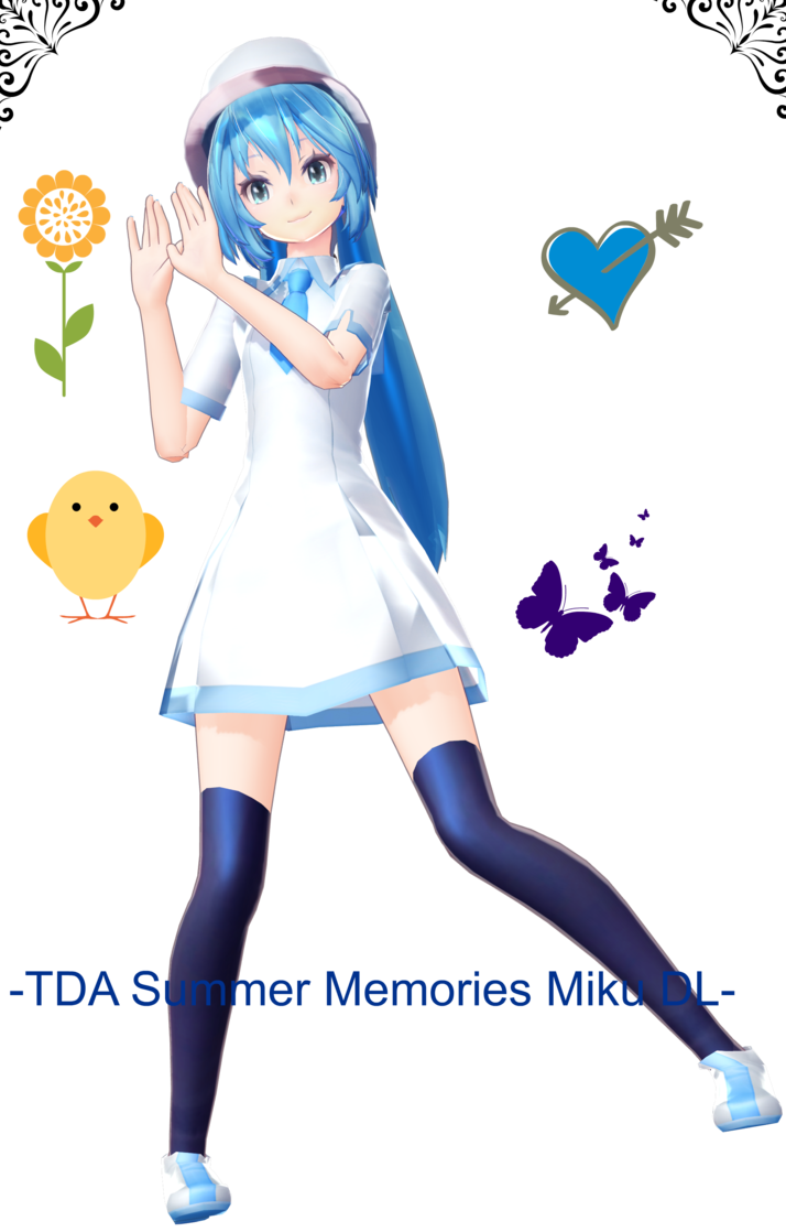 Tda memory miku dl. Memories clipart summer memories