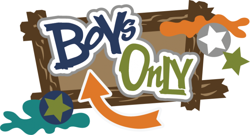 Boys only svg files. Memories clipart title scrapbook