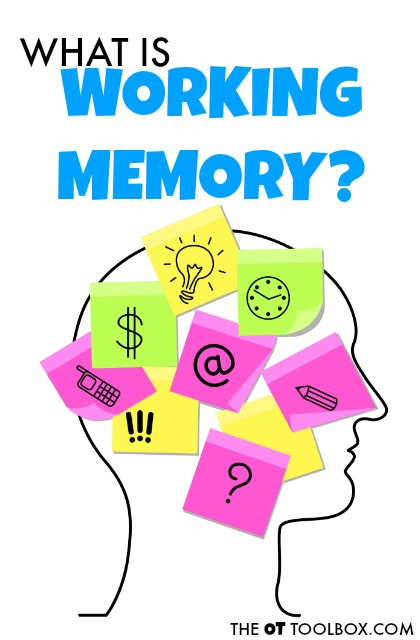 Memories clipart working memory. How to improve the