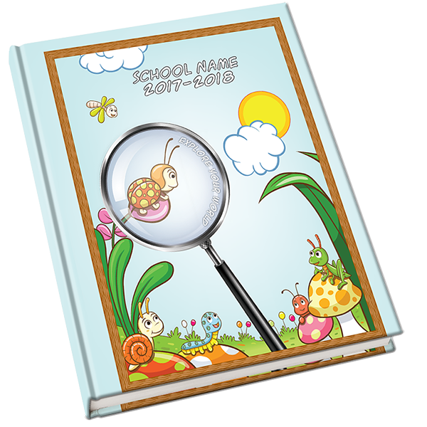 Explore cover . Memories clipart yearbook