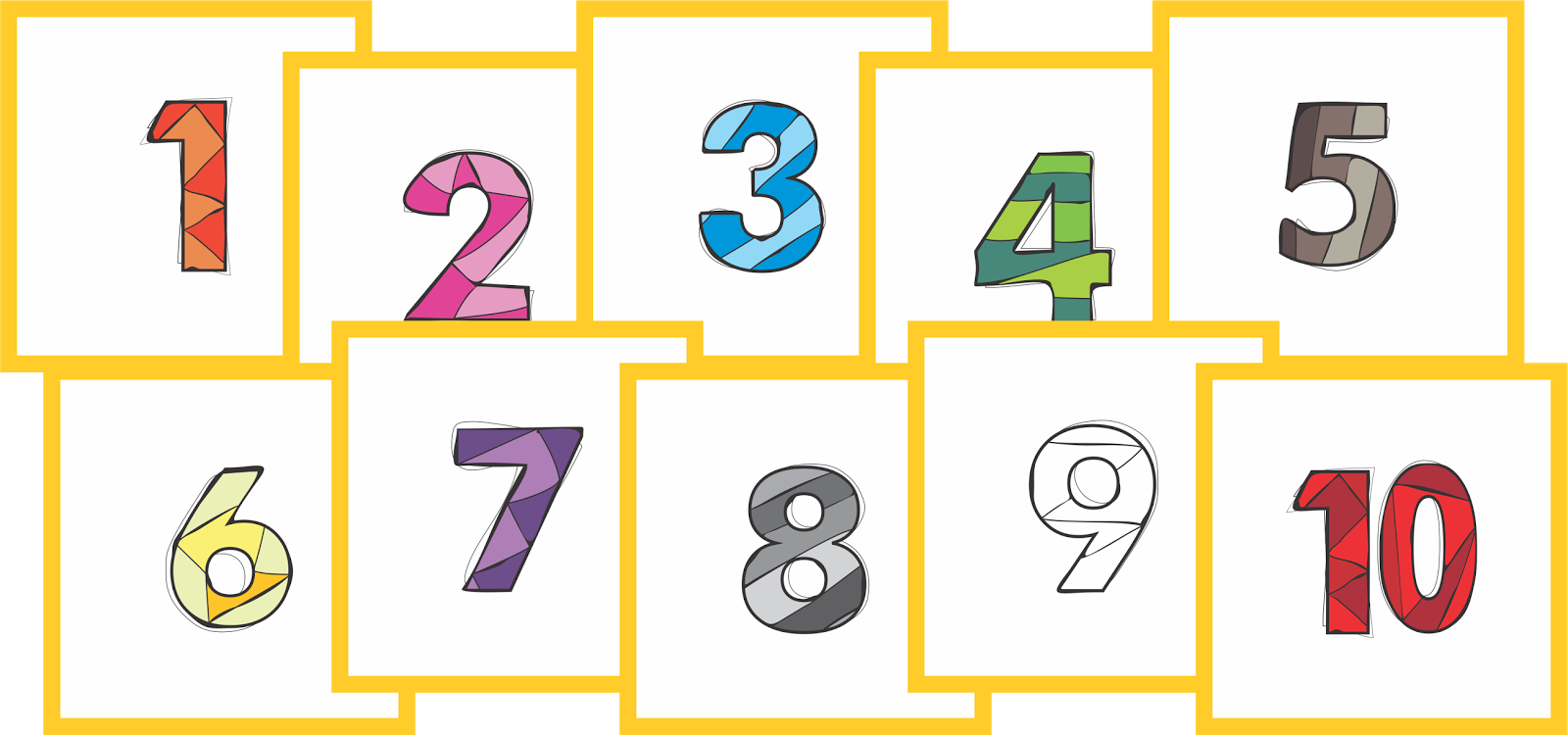 Number 1 clipart single number. Learn your numbers i