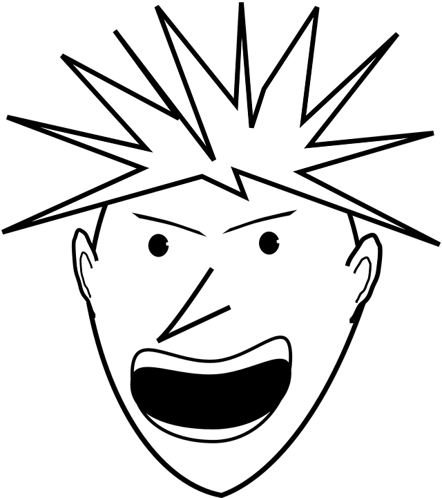 Png free transparent images. Yelling clipart screamed