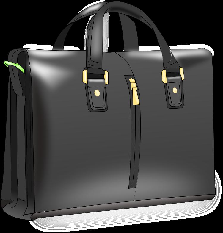 Men clipart bag. Man handbag medium image