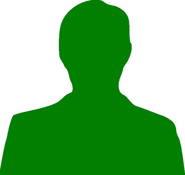 Man sillhouette clip art. Men clipart green