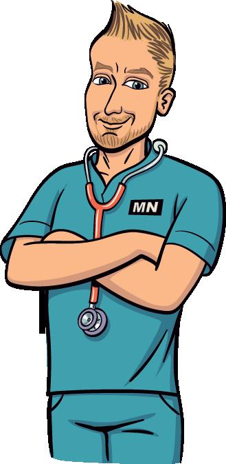 Male cartoon clip art. Men clipart nurse