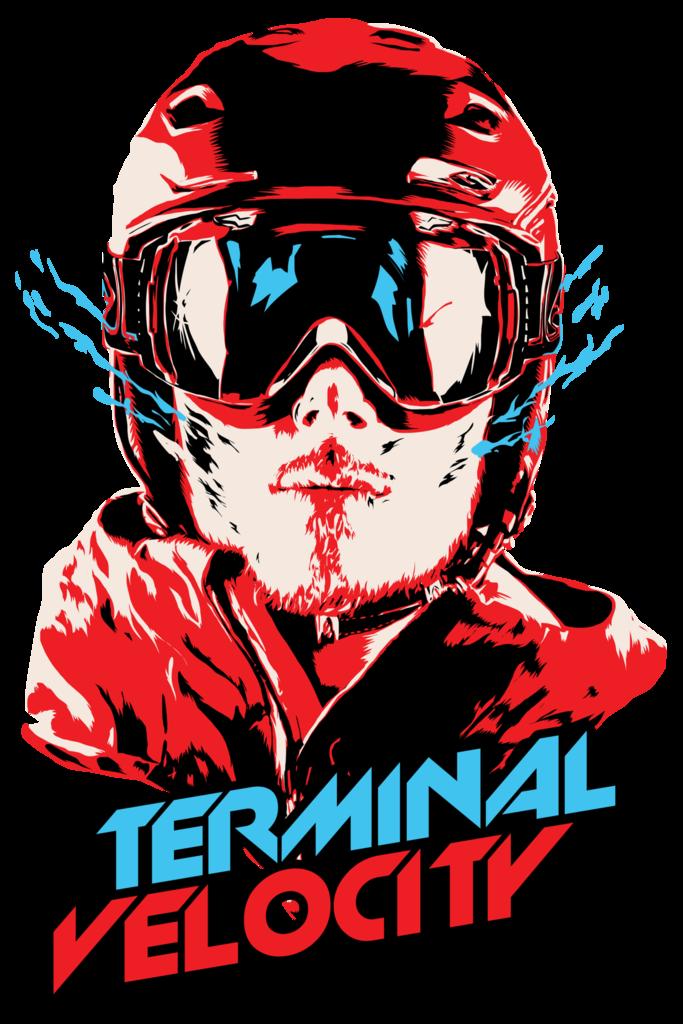 Men clipart snowboarding. S terminal velocity ski
