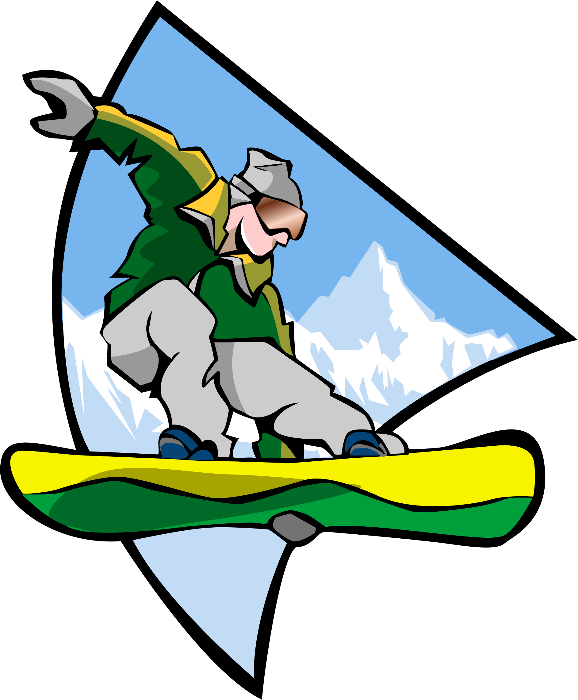Men clipart snowboarding. Man icons png free