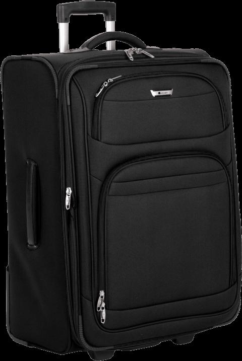 Men clipart suitcase. Black png free images