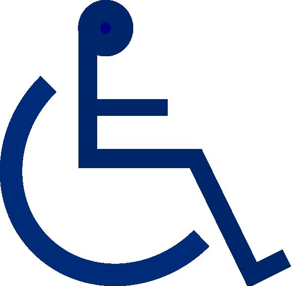 Sign clip art at. Men clipart wheelchair