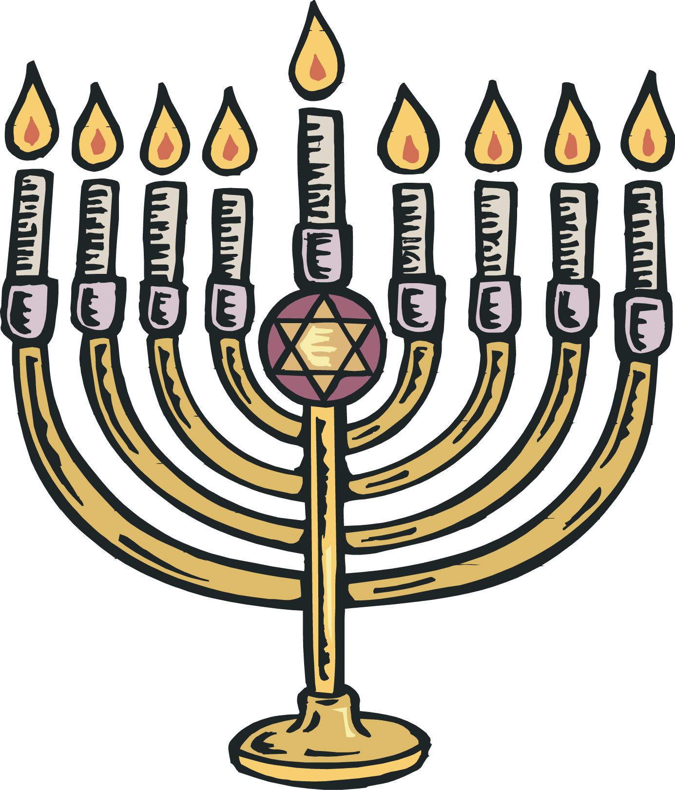 New song following the. Decoration clipart hanukkah