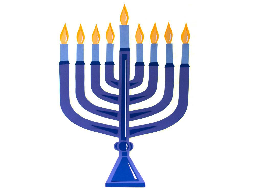 Menorah clipart small. Ingenious diy for hanukkah