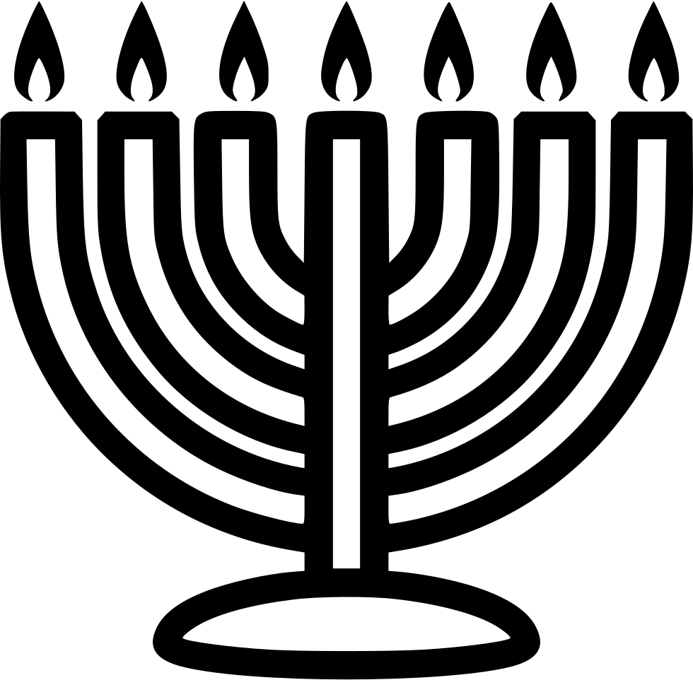 Png icon free download. Menorah clipart svg