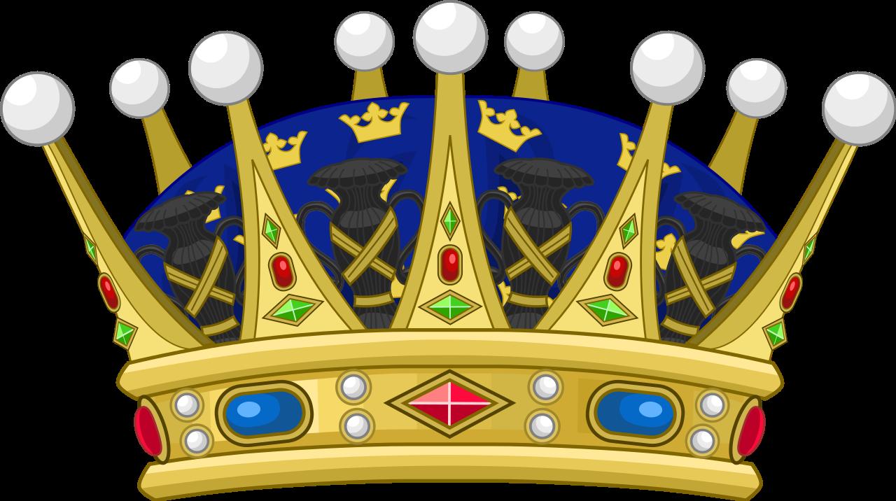 Menorah clipart svg. File heraldique suede couronne