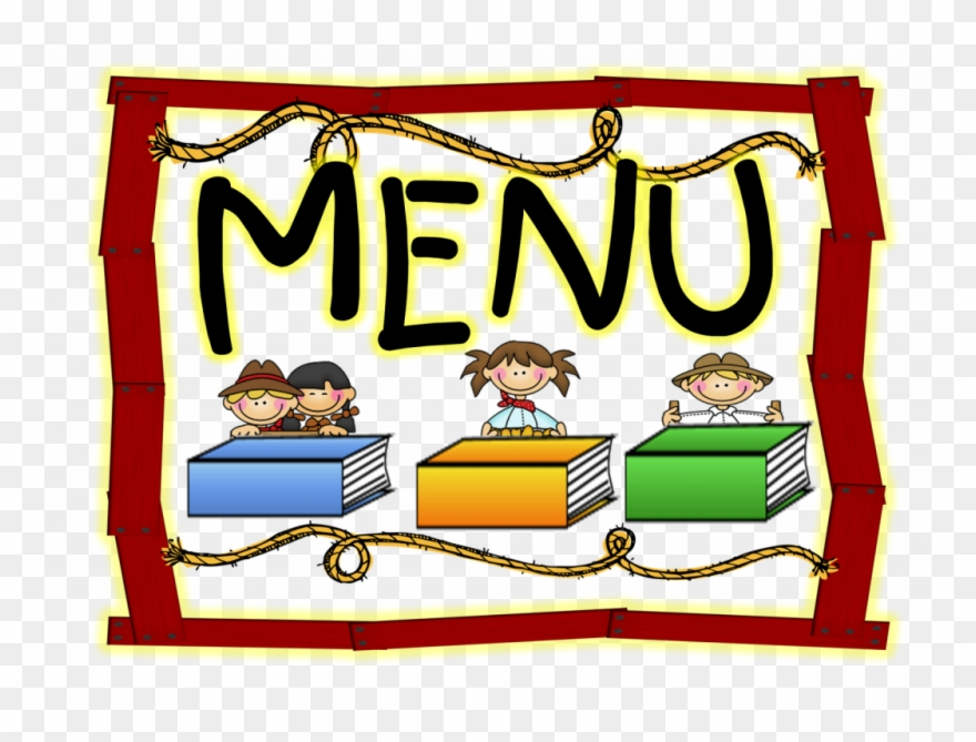 Lunchbox clipart lunch menu. October happy school