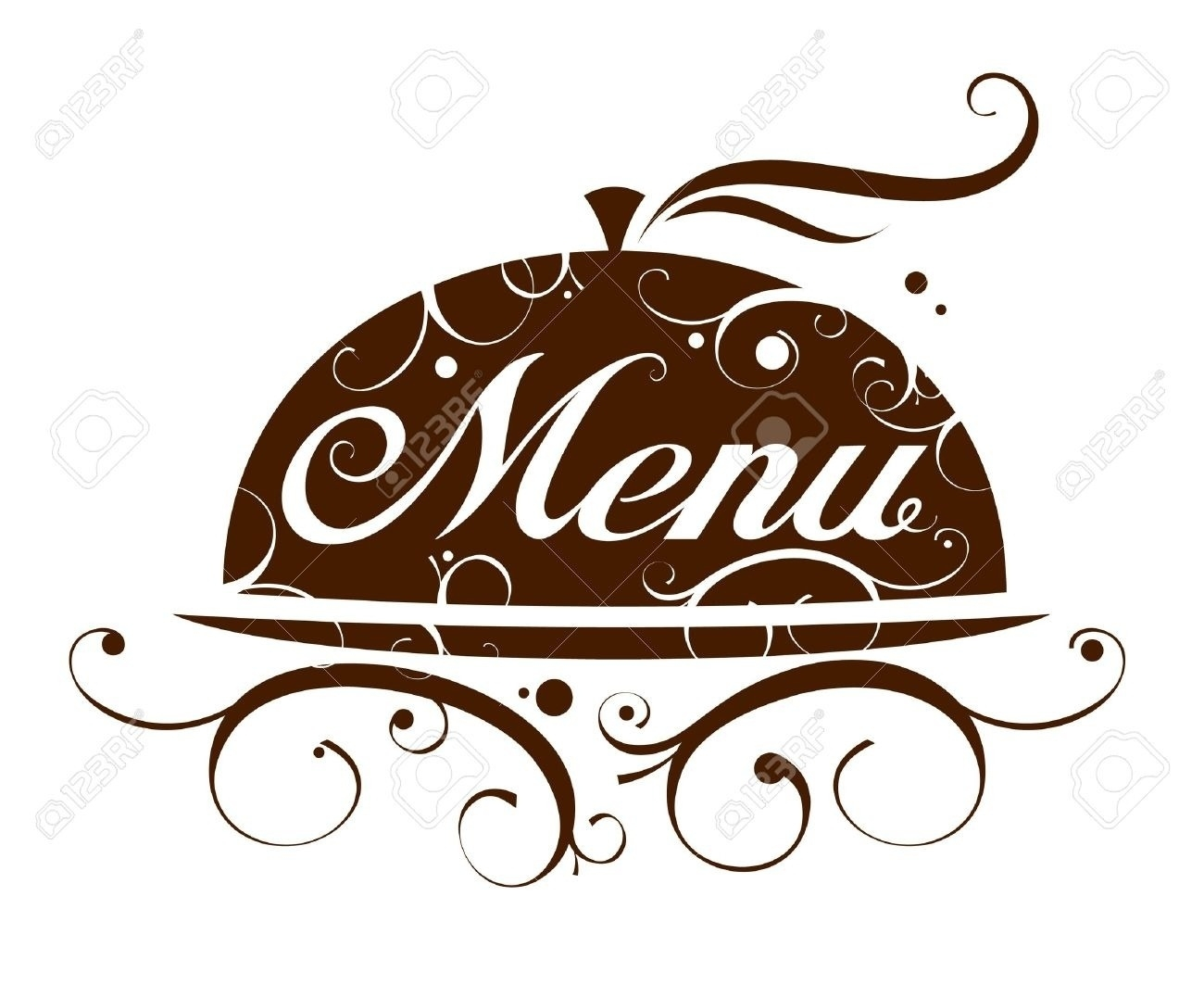 Dinner printables and world. Menu clipart