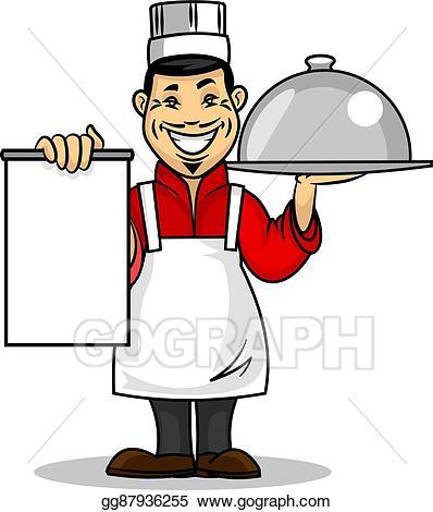 Vector art asian restaurant. Menu clipart chef menu