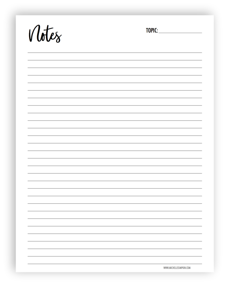 Free printable use this. Planner clipart binder paper