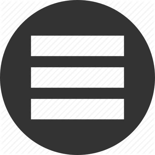 Menu icon png. Basic ui elements by