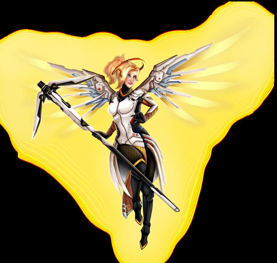 Mercy overwatch png. By almagkrueger on deviantart