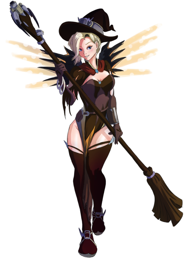 witch for free. Mercy overwatch png