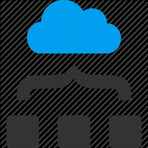 Merge png images. Cloud computing by aha