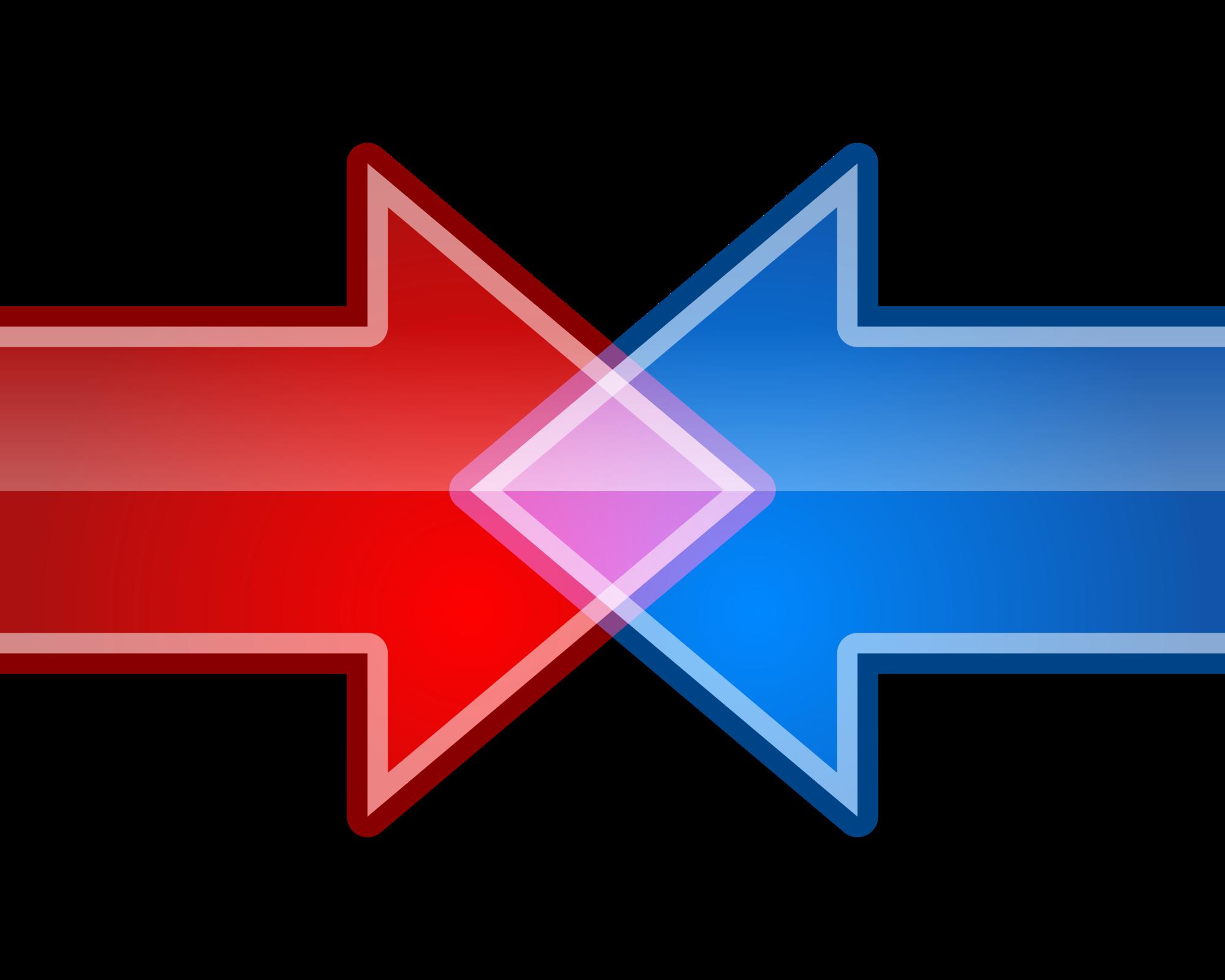 Merge png images. File short arrows svg