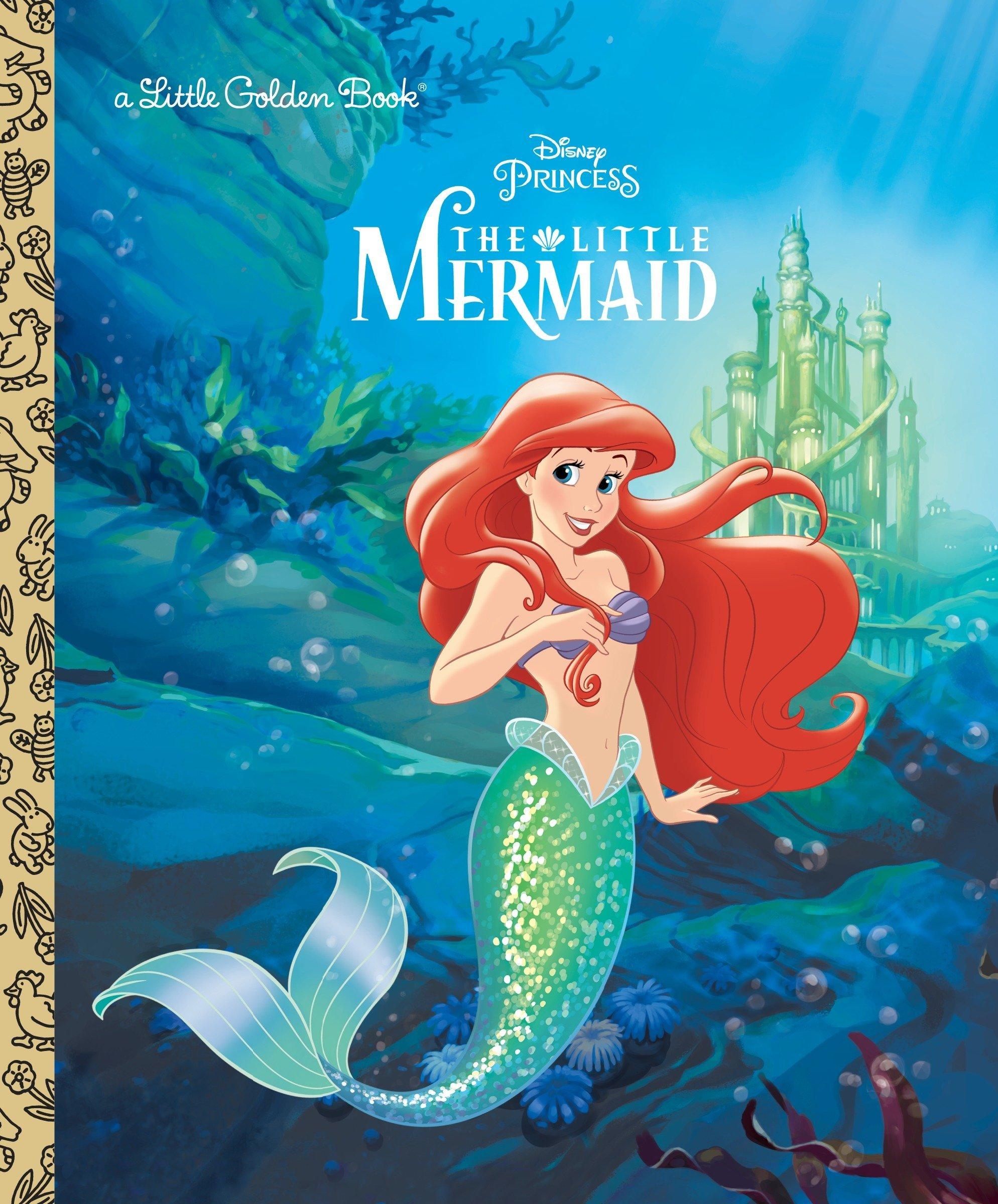 The little disney princess. Mermaid