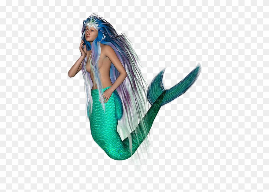 Tail creatures fairy tales. Mermaid clipart mythical creature