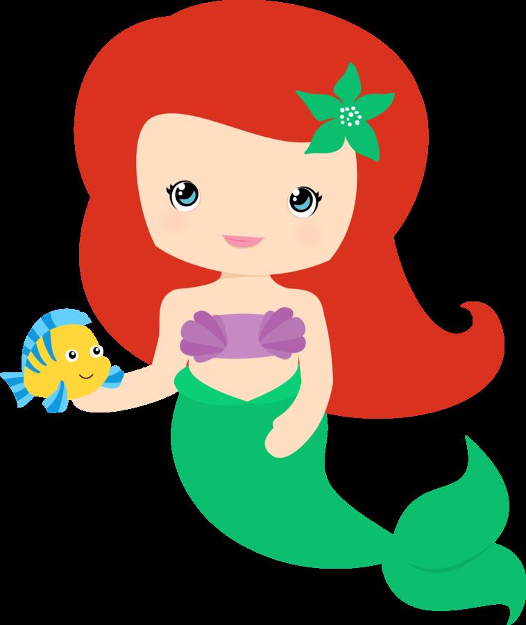 Minus say hello desenhos. Mermaid clipart pearl