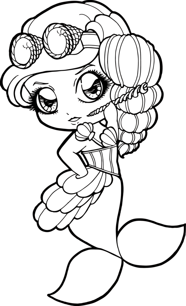 Drawing outline at getdrawings. Steampunk clipart mermaid