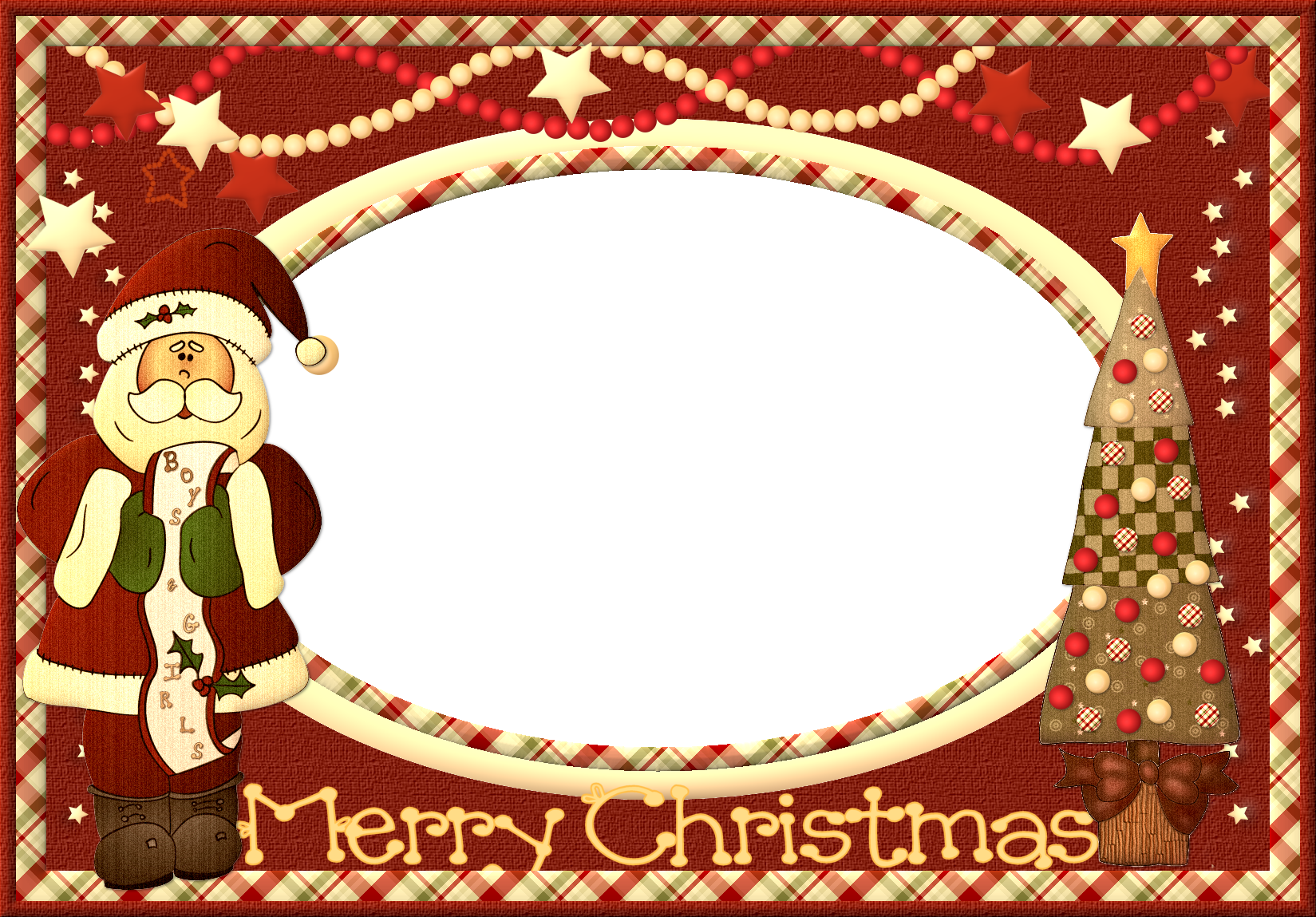 Merry christmas frame png.  free borders graphic