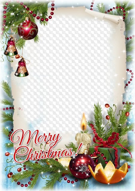 Merry christmas frame png. Frames photo psd free