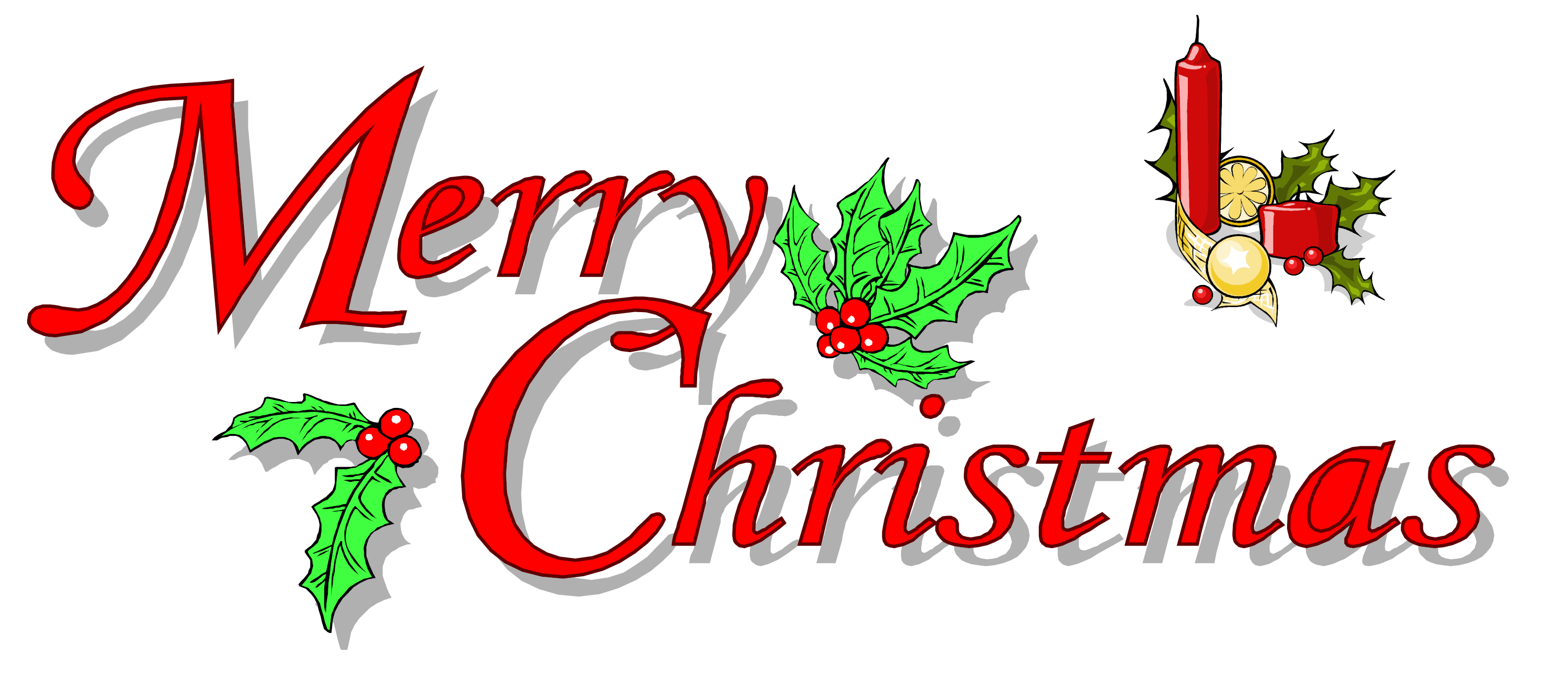Merry christmas png images. Text transparent all