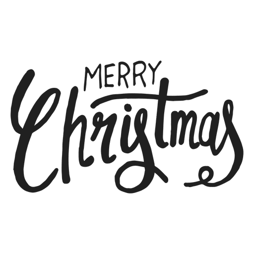 Merry christmas png images. Text transparent svg vector
