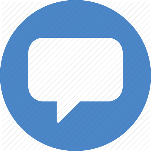 Message icon png. Social messaging ui color