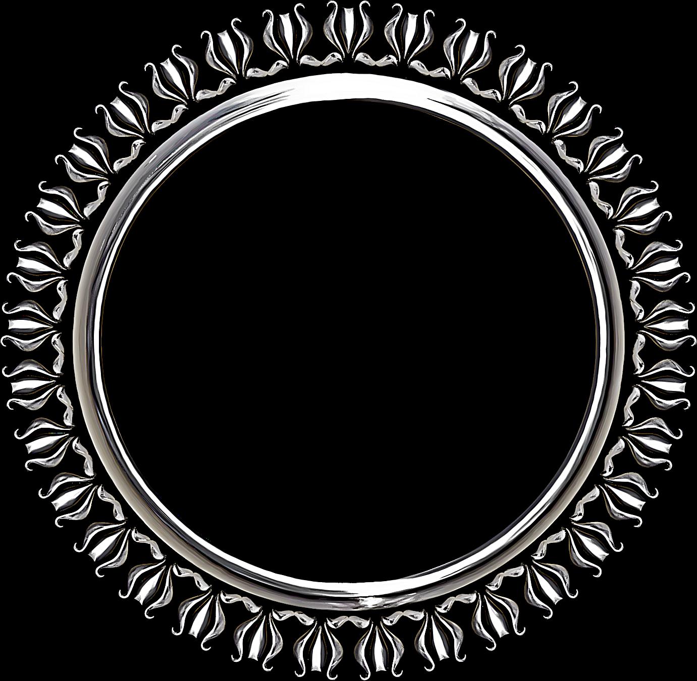Metal border png. Keychain ring circular transprent