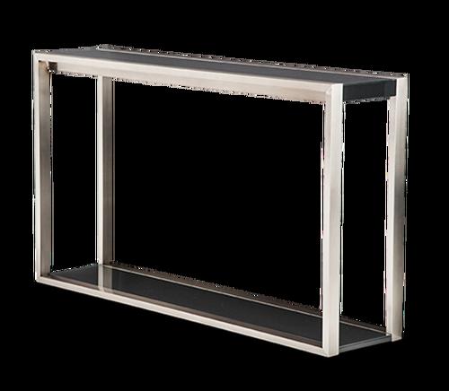 Modern gray black wooden. Metal frame png