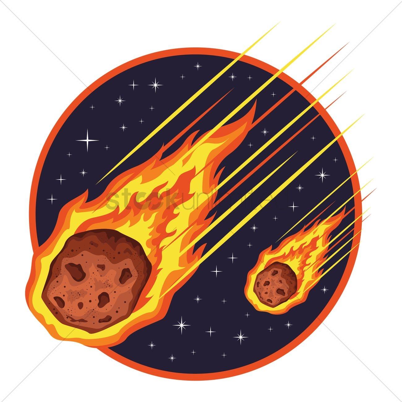 Meteor clipart. Best of design digital