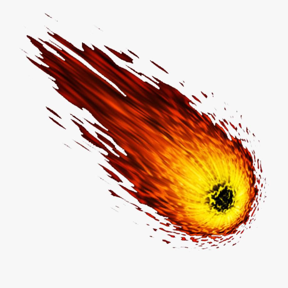 Meteor png images free. Comet clipart metor